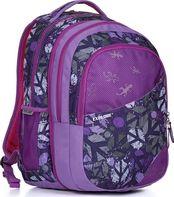 Fialové ✒ školní batohy a aktovky s motivem zvířátko • Zboží.cz 09a6f06015