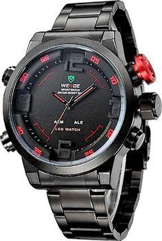 Weide WH-2309 red. Masivní pánské hodinky ... b492c7677d