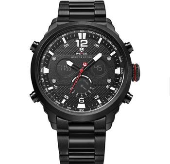 a056349576e Pánské značkové sportovní hodinky WEIDE WH-6303-BW. Značkové hodinky mají  masivní kovové tělo