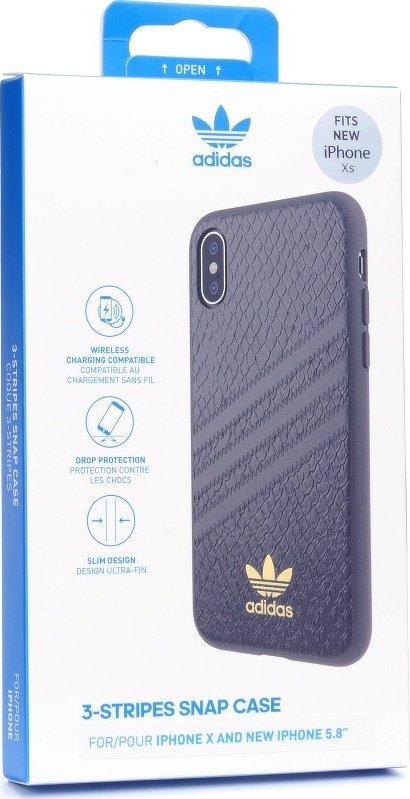 Adidas Originals Moulded Case Snake pro iPhone X   XS černé od 690 Kč •  Zboží.cz f78150dbdc1