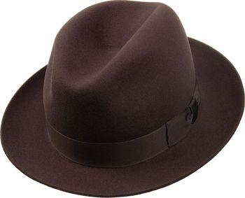 ac9dbcd4ffd Tonak Plstěný klobouk hnědá