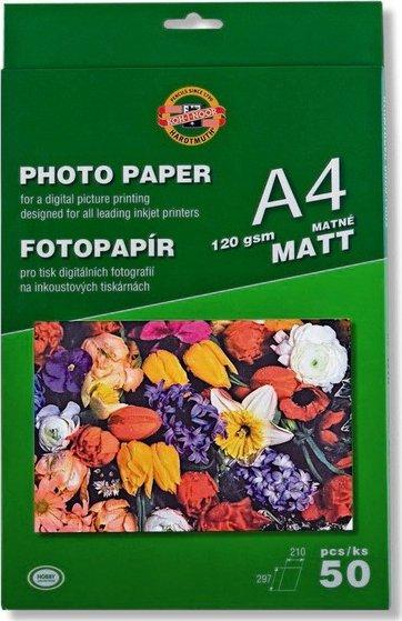 Koh-I-Noor 9757M19001PO Papier photo 50 feuilles format A4 190 Gsm Mat