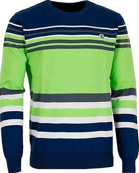 Kixmi Benny AAMSW16352 světle zelený. Pánský moderní svetr ... 4ece9c09ae