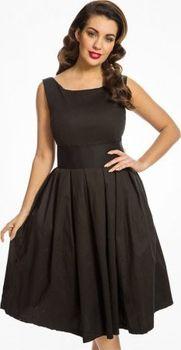 Černé dámské šaty Lindy Bop • Zboží.cz b383f8fff1