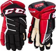 50d677119 hokejové rukavice CCM Jetspeed FT1 SR rukavice černé/bílé 2018/19