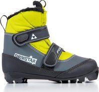 c2d2f841da1 Běžkařské boty Fischer Snowstar černé žluté 2018 19 33