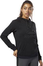 dámská mikina Reebok Workout Ready Logo Hoodie Black 4a5994a349