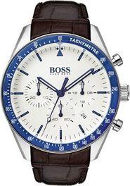Šedé stříbrné hodinky Hugo Boss • Zboží.cz 9072a1fbe10