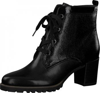 Tamaris 1-1-25106-21 black. Módní kotníkové boty ... 4d21a80bb4