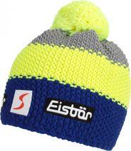 1cdda78e183 čepice Eisbär Star Neon Pompon MÜ SP modrá žlutá šedá