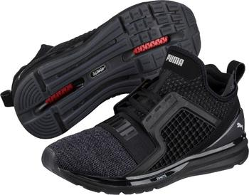best website 427a2 d4894 PUMA Ignite Limitless Knit Black/Silver 46 od 1 290 Kč ...