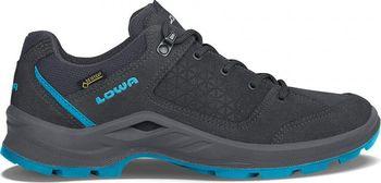 LOWA Terrios GTX Lo Ws Graphite Turquoise. Dámská multifunkční trekingová  bota ... 0672627b41
