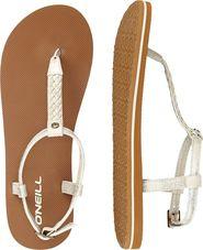 3047383f87a dámské sandále O Neill Braided Ditsy Plus sandal bílé