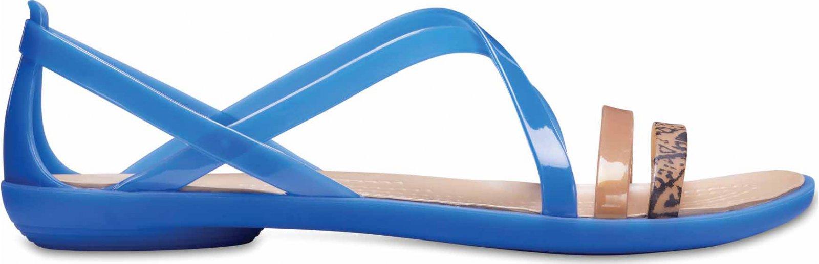 c527f386e80a6 Crocs Isabella Strappy modré/zlaté od 835 Kč | Zboží.cz