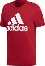 pánské tričko adidas Essentials Linear Tee červené 49bddf2419