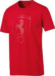 fbb6f84088784 pánské tričko Puma Ferrari Big Shield Tee červené M