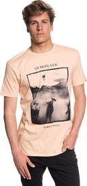 pánské tričko Quiksilver Wave Party Ss Peach Parfait 7b03710e96