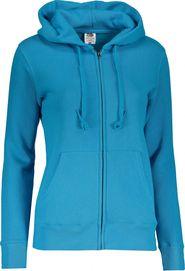 5e1e39840bb dámská mikina Fruit Of The Loom Premium Hooded Sweat Azure Blue