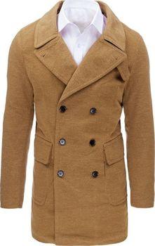 BASIC Pánský zimní hnědý kabát (cx0362)… 5afd2d5f25