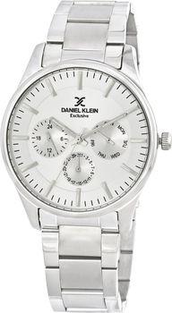 3b4299607 Hledáte skutečně elegantní, jednoduché, ale precizně zpracované pánské  hodinky? Přesně takové jsou hodinky Daniel Klein DK11622-1 ve stříbrném  provedení.