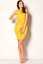 Žluté dámské šaty • Zboží.cz f6cde83fd9