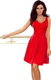 633da7d18e34 dámské šaty Numoco 208-2 červené