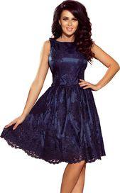 249d57369e2 dámské šaty Numoco 173-3 tmavě modré