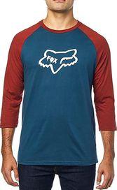 3145ab0702 pánské tričko FOX Czar Head Premium Navy Red