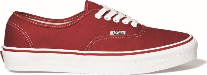 VANS Authentic Red od 730 Kč • Zboží.cz 61a70c3386d