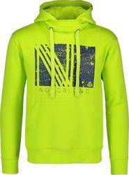 pánská mikina Nordblanc Joy NBFMS5944 jasně zelená d2c4c46540