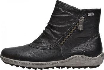 e9b768319aa Rieker Remonte R1475 01 černé. Stylové dámské kotníkové boty ...