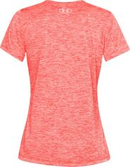 6333e9aec7cb dámské tričko Under Armour SS Twisted Tech Tee červené oranžové
