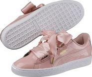 a1b15bdba6b63 dámské tenisky Puma Basket Heart Patent růžové
