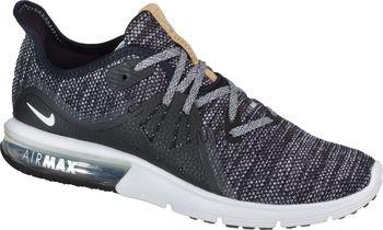 97d4f0b6985c7 Pánské běžecké boty Nike Air Max Sequent 3, jejichž designové prvky staví  na originálním modelu Air Max, přinášejí elastické tlumení a hladkou  přechodovou ...
