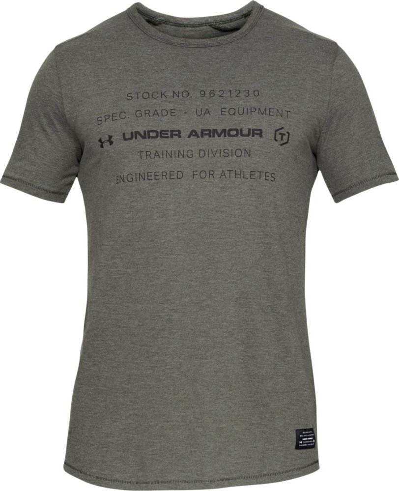 Under Armour Sportstyle Tri-Blend Graphic T-Shirt-357 zelená od 872 Kč •  Zboží.cz 2288cf9bdb