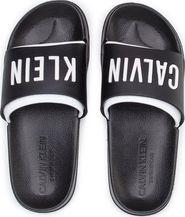 1d443bc50a08 dámské pantofle Calvin Klein Sliders Intense Power černé bílé
