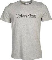 9d19f83189 pánské tričko Calvin Klein S S Crew Neck NM1129E-080 Grey Heather