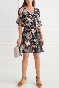 5b4c63e40754 Hnědé dámské šaty s velikostí velikostí S