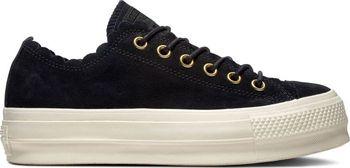 13550c8bd3e5 Dámské boty Converse Chuck Taylor All Star Lift Scallop mají svrchní  materiál z kůže. Tato dámská obuv Converse má zvlněné okraje.