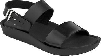 7cd83800468d Dámské sandále od značky Scholl v černé barvě mají nastavitelnou délku  pásku a na stélce nechybí logo výrobce. Paměťová stélka Memory Cushion  pomáhá ...