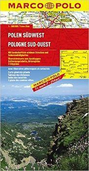 Polsko Sudwest 1 300 000 Marco Polo 2014 Mapa Od 135 Kc