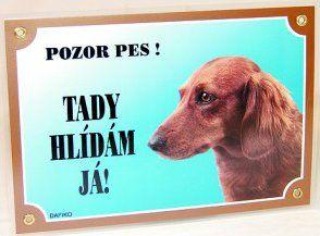Dafiko Tabulka jezevčík dlouhosrstý (1ks) od 26 Kč • Zboží.cz 1048815646