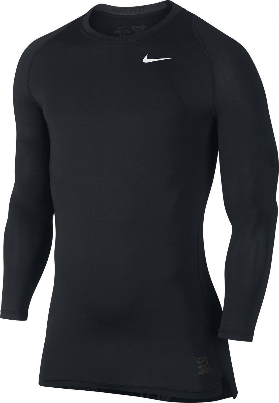 d72705e585f Nike Pro Cool Compression LS 010 Black White od 658 Kč • Zboží.cz