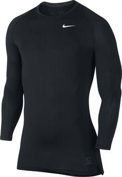 1a618d35f76 Nike Pro Cool Compression LS 010 Black White od 658 Kč • Zboží.cz