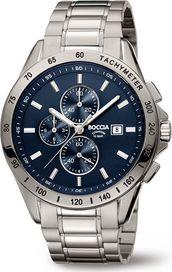Modré hodinky Boccia Titanium • Zboží.cz 8060a726bfe