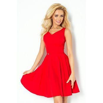 da8cfd8477de Numoco 114-3 červené. Luxusní dámské společenské šaty ...