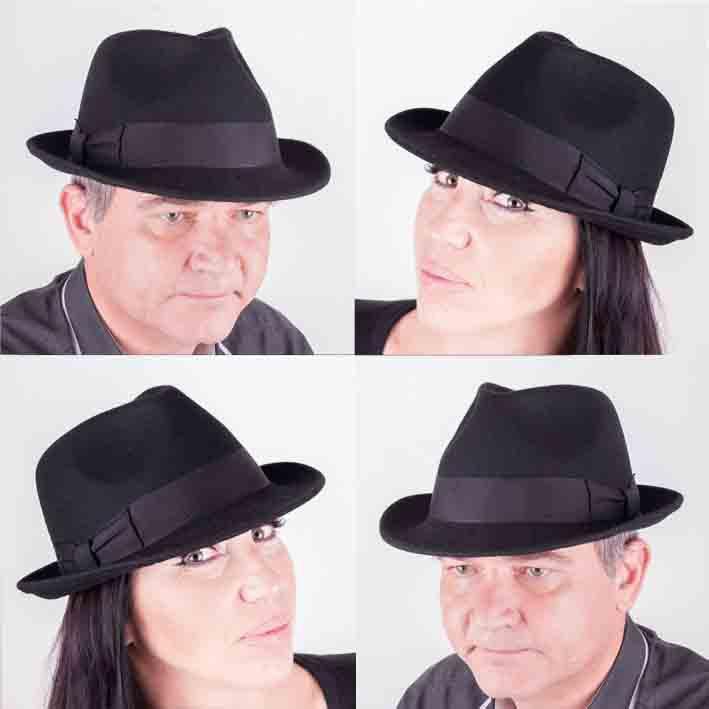 7db2b7e6fb4 Mes 85028 Černý pánský klobouk od 965 Kč • Zboží.cz
