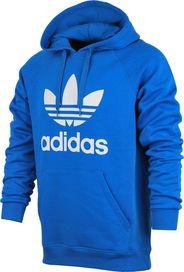47a94b3f463 pánská mikina Adidas Originals Trefoil Hoody modrá