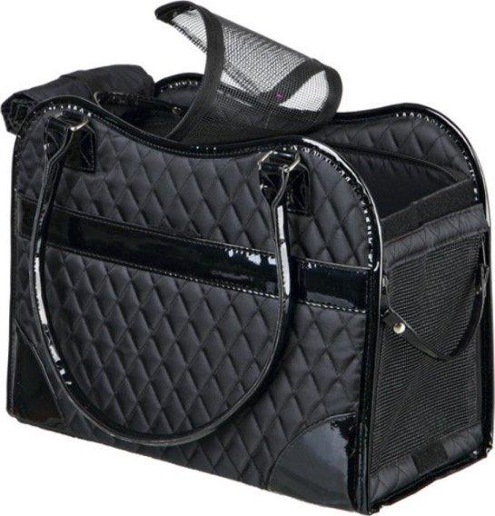 5bd790a9c1 taška pro psa Trixie Amina taška černá 18 x 29 x 37 cm
