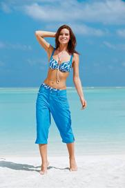 0485853a84d dámské plavky Sunflair 21214 modrá
